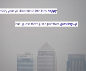 buildings, sad, and growing up image