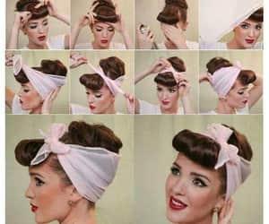 make up, diy, and hair image