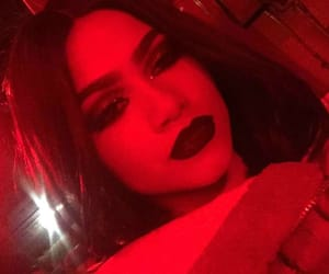 aesthetic, red, and red light image