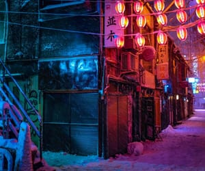 color, street, and japan image