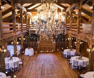 barn and wedding image