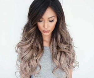 hair, chic, and fashion image