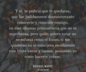 poema, verso, and doribel marte image