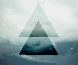 triangle, hipster, and sea image