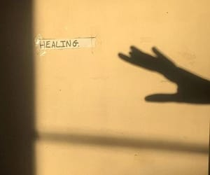 healing, shadow, and aesthetic image