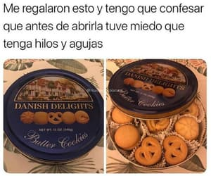 Cookies, funny, and galletas image