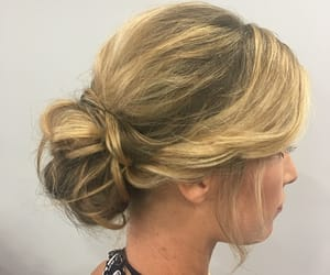 hairstyles, updo, and promhair image