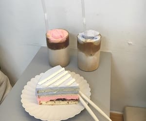 cake, aesthetic, and pink image