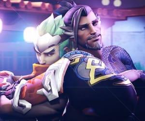genji, overwatch, and hanzo image