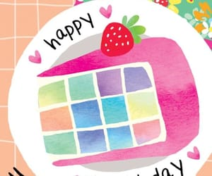 colores, happy birthday, and pastel image