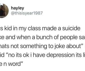 depression, lol, and lmao image