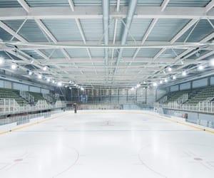 ice skating, skates, and skating image