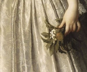 flowers, painting, and pale image