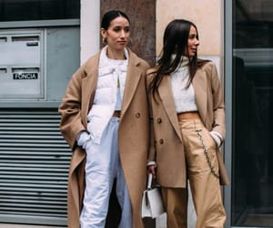 fashion, street style, and all white style image