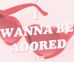 adore, i wanna be, and love image
