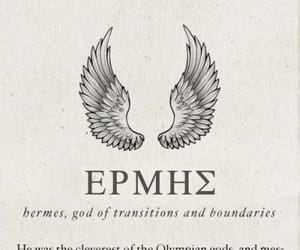 hermes, mythology, and greek gods image