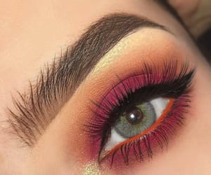 makeup, eyeshadow, and eye image