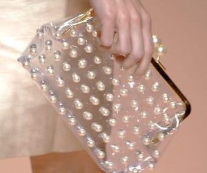 handbag, pearls, and bag image