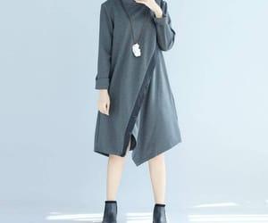 etsy, long sleeve, and women dress image