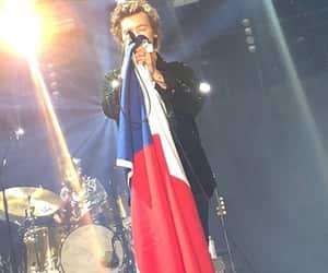chile, flag, and Harry Styles image