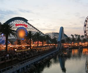 california, paradise pier, and disneyland image
