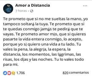 amor, desamor, and facebook image