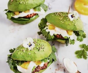 avocado, food, and buns image
