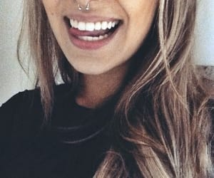piercing and smile image