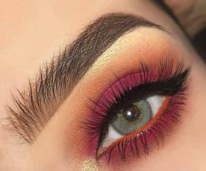 makeup, eyeshadow, and eye image