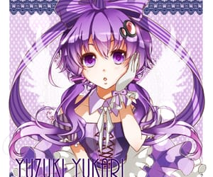 dress, kawaii, and purple image