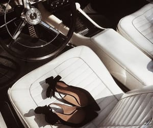 car, heels, and shoes image