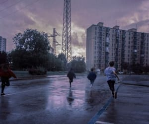 purple, twilight, and sky image