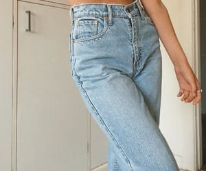 fashion, ideas, and denim jeans image