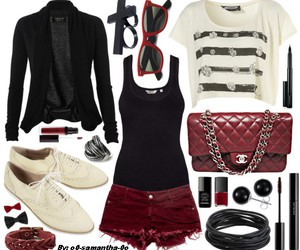 outfit, set, and fashion image