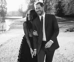 prince harry, meghan markle, and love image
