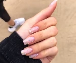 nails, jenner, and kylie jenner image