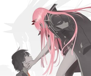anime and darling in the franxx image