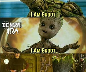 Avengers, Marvel, and groot image