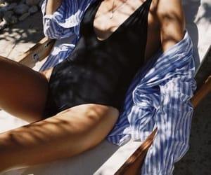 beach, fashion, and girly image