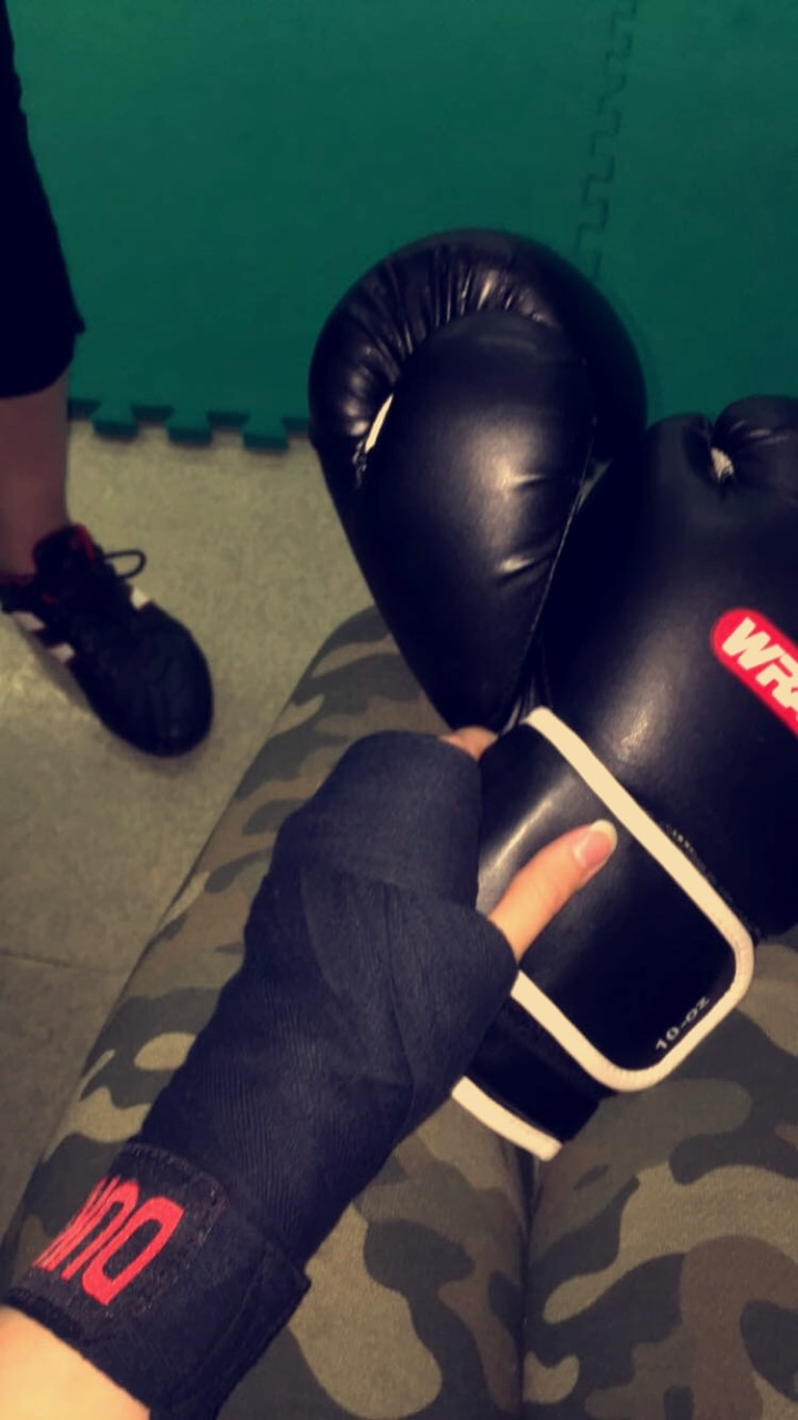 anger, boxing, and boxing gloves image