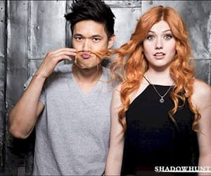 magnus, clary, and shadowhunters image