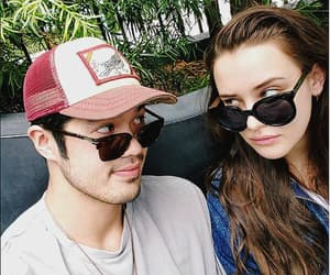 katherine langford, ross butler, and 13 reasons why image