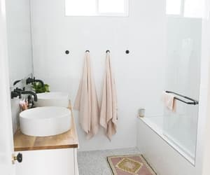 bathroom, décoration, and decor image