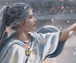 the ice princess, ghostblade, and yan image