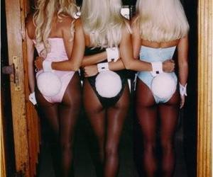 blond, hair, and Playboy image