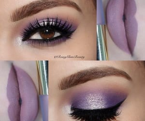 beautiful, eyes, and lips image