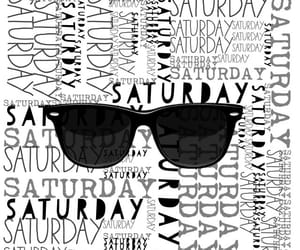 saturday, sunglasses, and weekend image