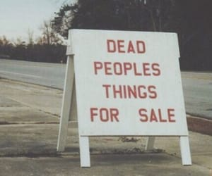 dead, sale, and text image