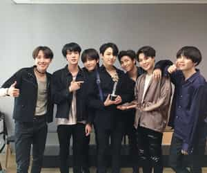 group picture, yoongi, and hoseok image