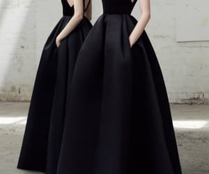 black, Couture, and dress image